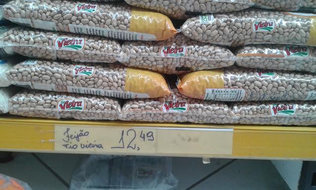 Preço do quilo do feijão dispara e em Olho D'Água do Casado está sendo vendido a R$ 12,49