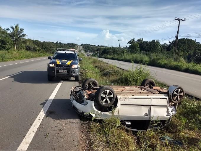Dois acidentes nas BRs do Maranhão no início desta quarta-feira (24)
