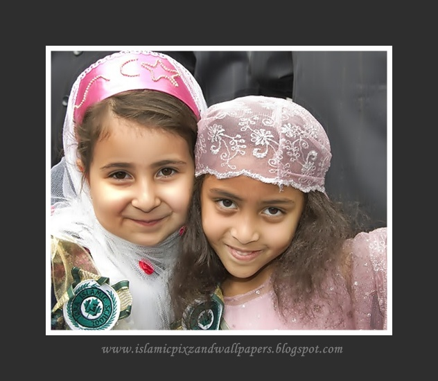 Islamic Pictures And Wallpapers: Muslims Cute Babies Good