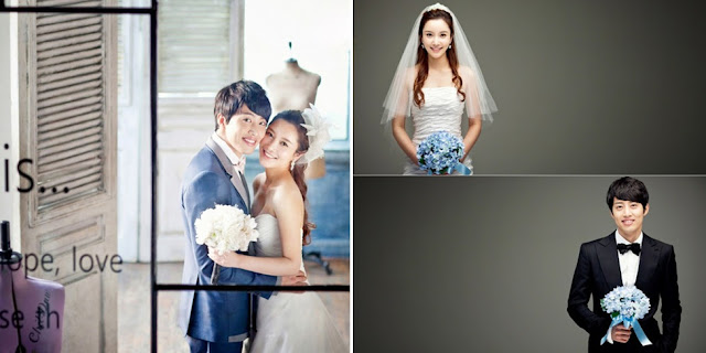 pre-wedding photo korean concept