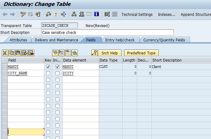 SAP ABAP Consultant Career: SAP ABAP Data Dictionary Case