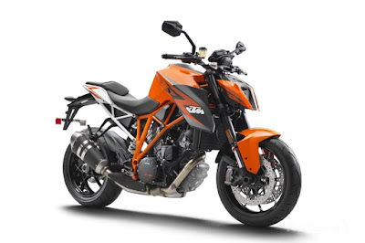 2017 KTM Duke 390 orange with white image