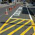 Prefeitura revitaliza demarcação viária, faixas e estacionamentos