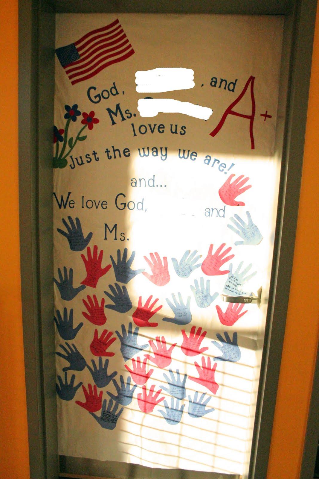 Frills Fluff and Trucks: Teacher Appreciation Door Decorating