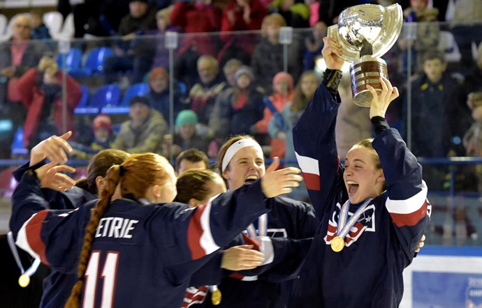 EUA são tetracampeões do Mundial sub-18 de hóquei feminino