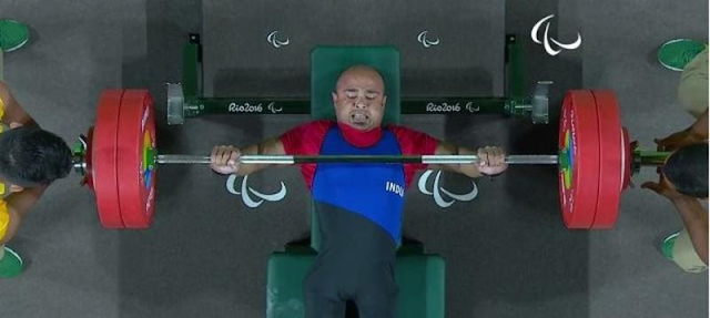 Fahman Basha gave India a dream start, finishing fourth in the Powerlifting event