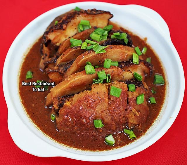 Ah Soon Kor Sabah Style Yam and Pork