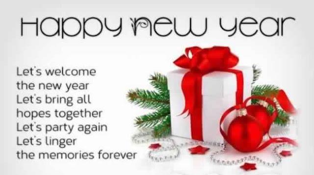 Wish You Happy New Year My Friend