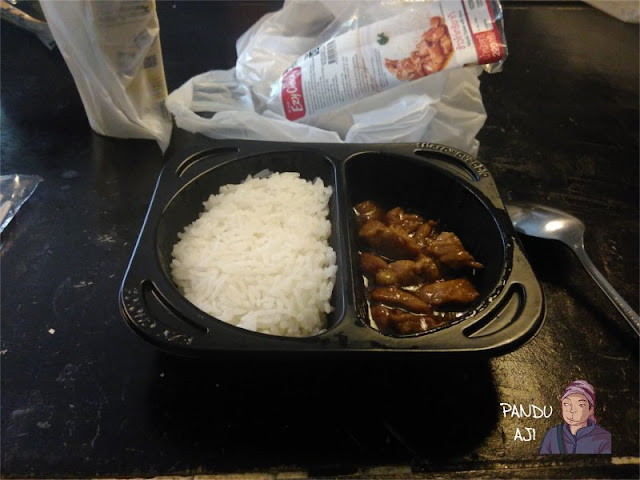 Chicken Teriyaki di Sevel sekitar 35 Bath