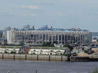 Stadion Piala Dunia Rusia 2018 Nizhny Novgorod Stadium