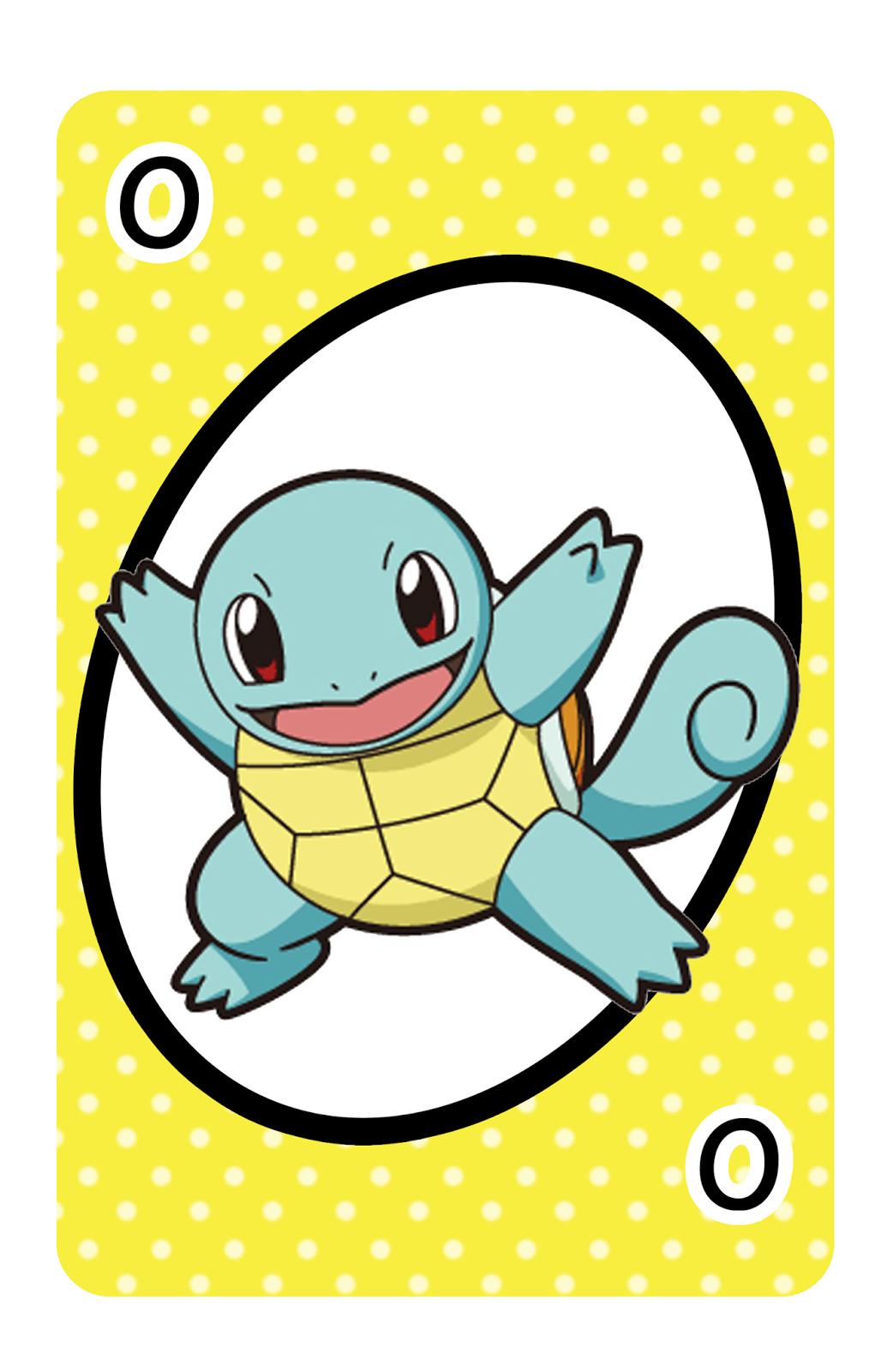 Kawaii Otakuday Juego Uno Para Imprimir Pokemon