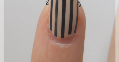 Gelish Tips A Quick Fix For Peeling Striping Tape Gelish Geekery