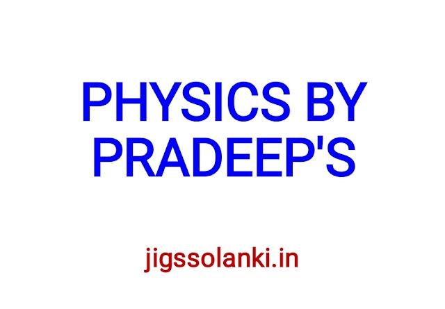 PRADEEP'S PHYSICS CLASS 12 PART 2