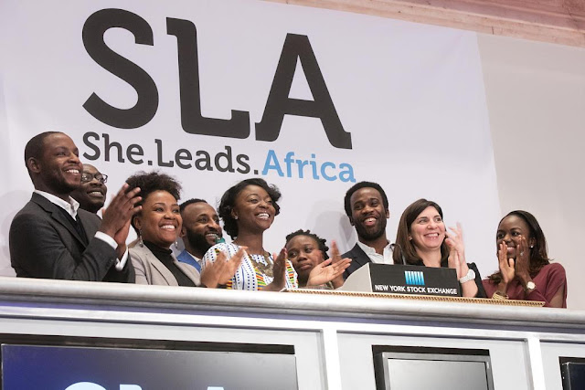 She Leads Africa to become the first African startup to ring the Closing Bell.