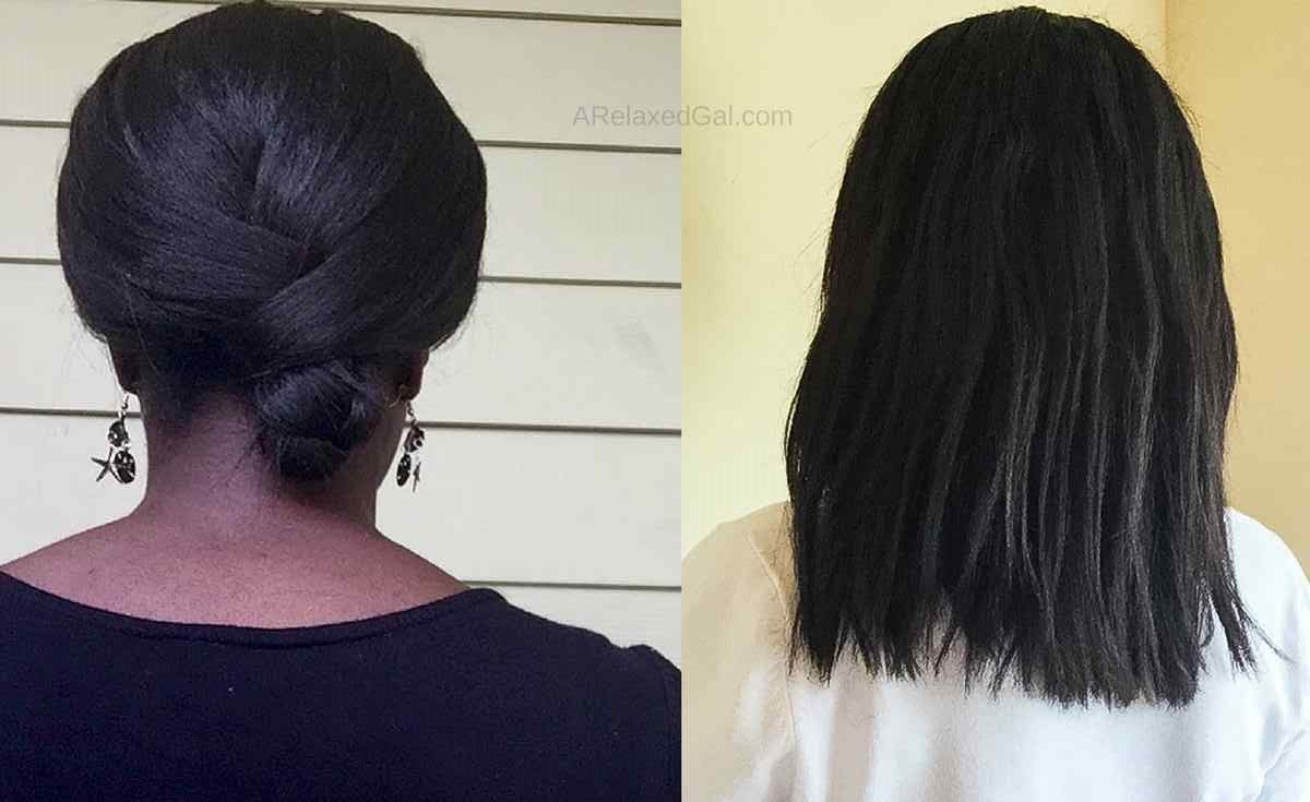 5 signs of healthy relaxed hair | A Relaxed Gal
