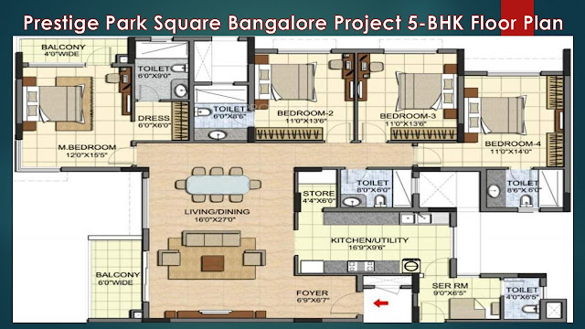 Prestige Park Square Floor Plan