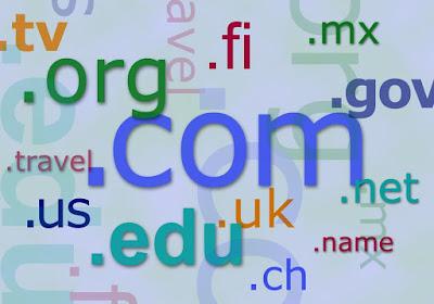 Ilustrasi blog top level domain (TLD). Sumber : publicdomainfiles.