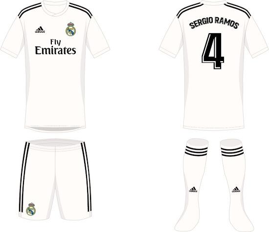 Real Madrid  confirmada la nueva camiseta para la próxima temporada ... 5add6124c4530