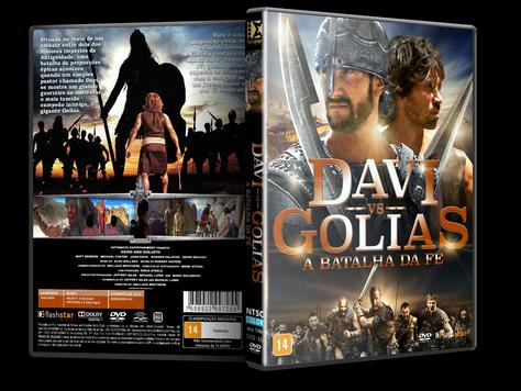 Capa DVD Davi vs Golias A Batalha da Fé [Exclusiva]