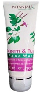 Patanjali Neem-Tulsi Face Wash (Patanjali products)
