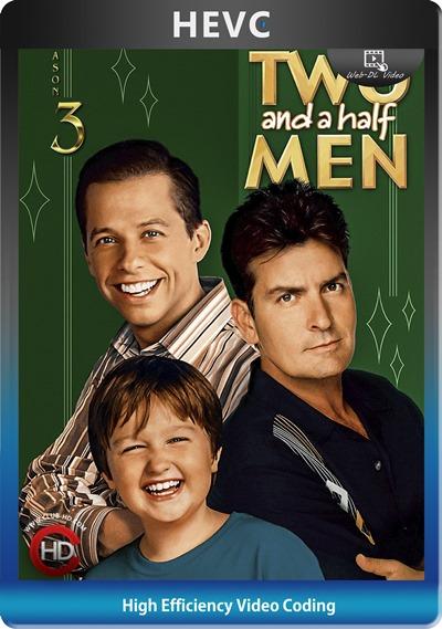 Two And Half Men (2005) S03 1080p AMZN WEB-DL Dual Latino-Inglés [HEVC-10bit] [Subt. Esp] (Serie De TV. Comedia)