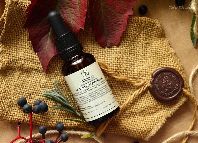 Bydgoska Wytwórnia Mydła Olej z pestek śliwki recenzja kosmetyki naturalne