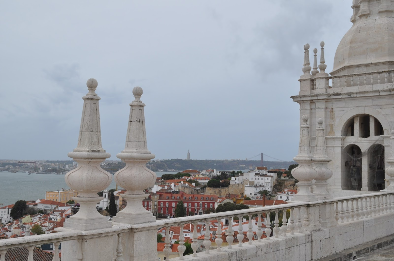 The roof of St Vincent outside the walls, 8 Great Discoveries in Lisbon, photo by Modern Bric a Brac