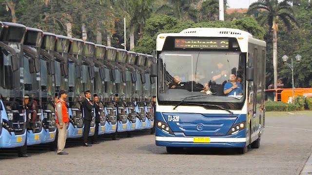 Inilah Bus Transjakarta Vintage Series Untuk Mengenang Masa Jaya Bus PPD