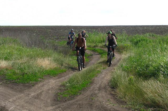 велосипедом по грунтам