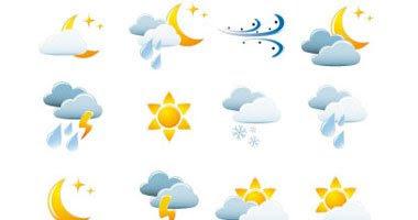 """توقعات اخبار حالة الطقس غدا الاحد 12-6-2016 """"الارصاد الجوية"""" درجات الحرارة المتوقعة الاحد 12 يونيو"""