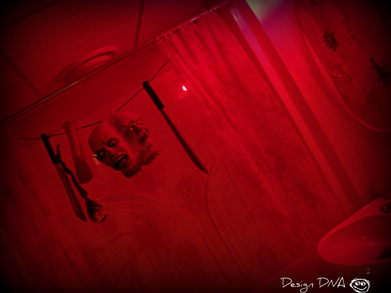 Blood Bath Shower Gel Design Dna Haunted House Rooms 4 Quot The Bloody Bathroom Quot