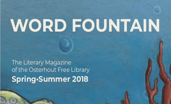 Word Fountain Release Party