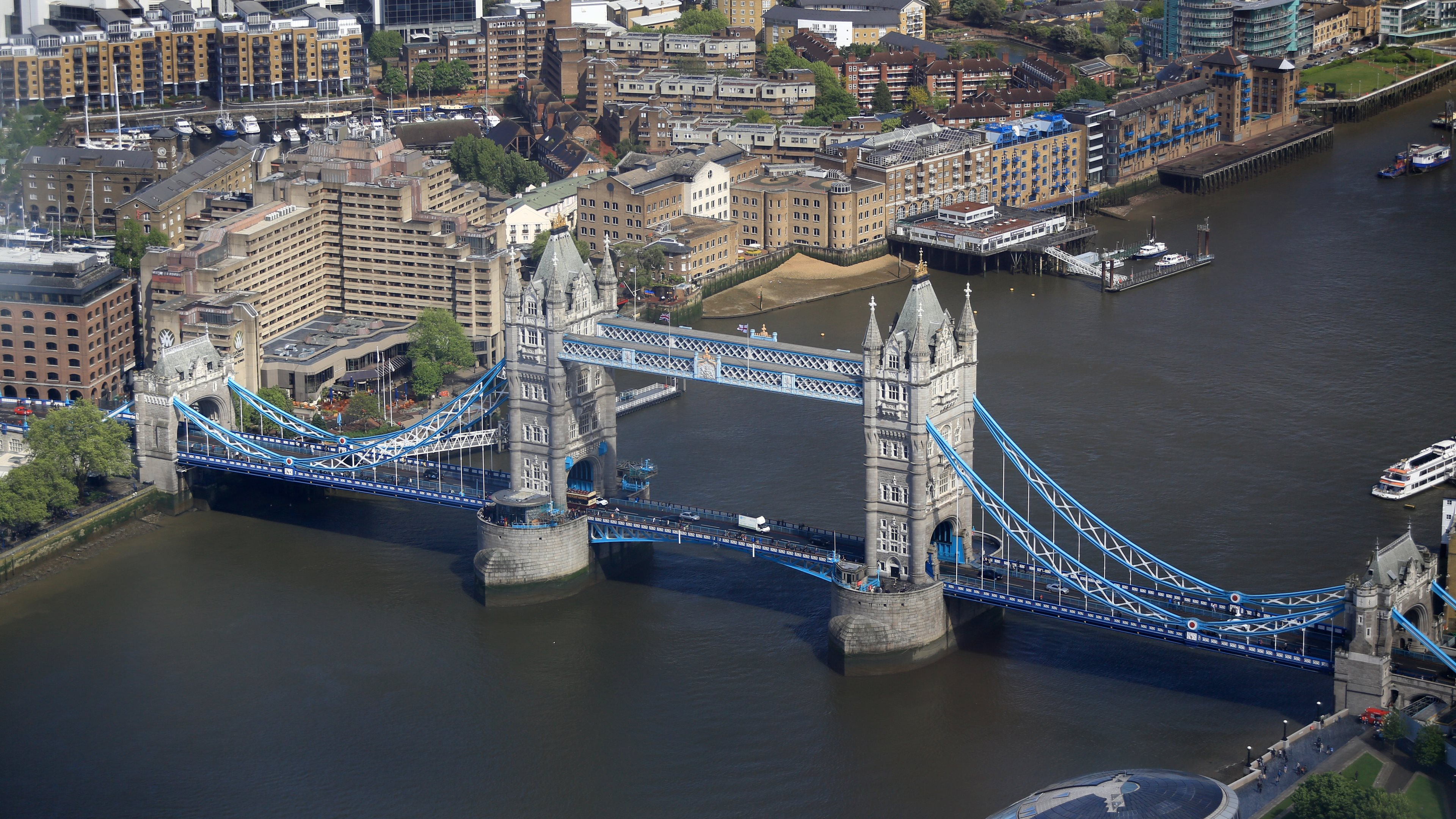 Tower Bridge From The Shard Building Hd Wallpapers 183 4k