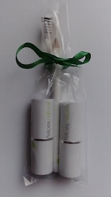 Naturalna kolorówka Felicea- szminki oraz kredka do brwi