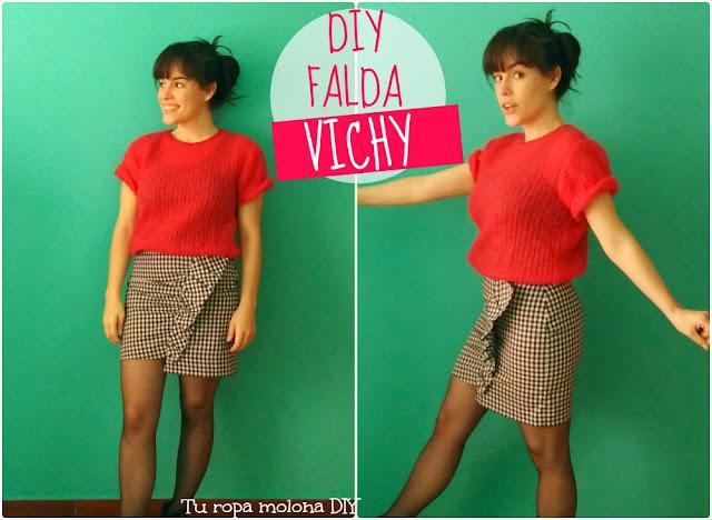 DIY falda Vichy