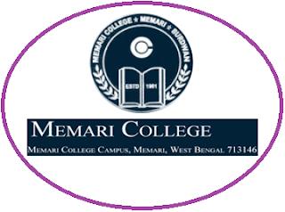 Memari College, Memari - 713146, West Bengal
