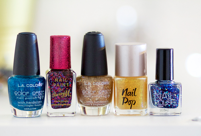 My Top 5 Glitter Nail Polishes