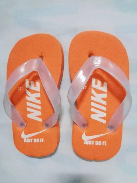 sandal anak nike orange
