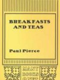 Breakfasts and Teas