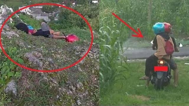 Viral! Dua Remaja Ini Sempat Dikira Korban Kecelakaan, NamunFoto Selanjutnya Bikin Netizen Kesal