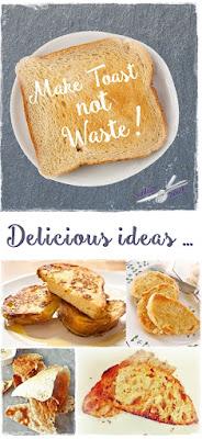 french toast, cinnamon toast, melba toast and Greek grilled toast