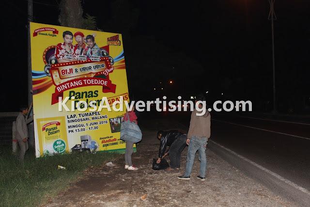 Jasa Pemasangan Spanduk Banner dan Baliho di Malang
