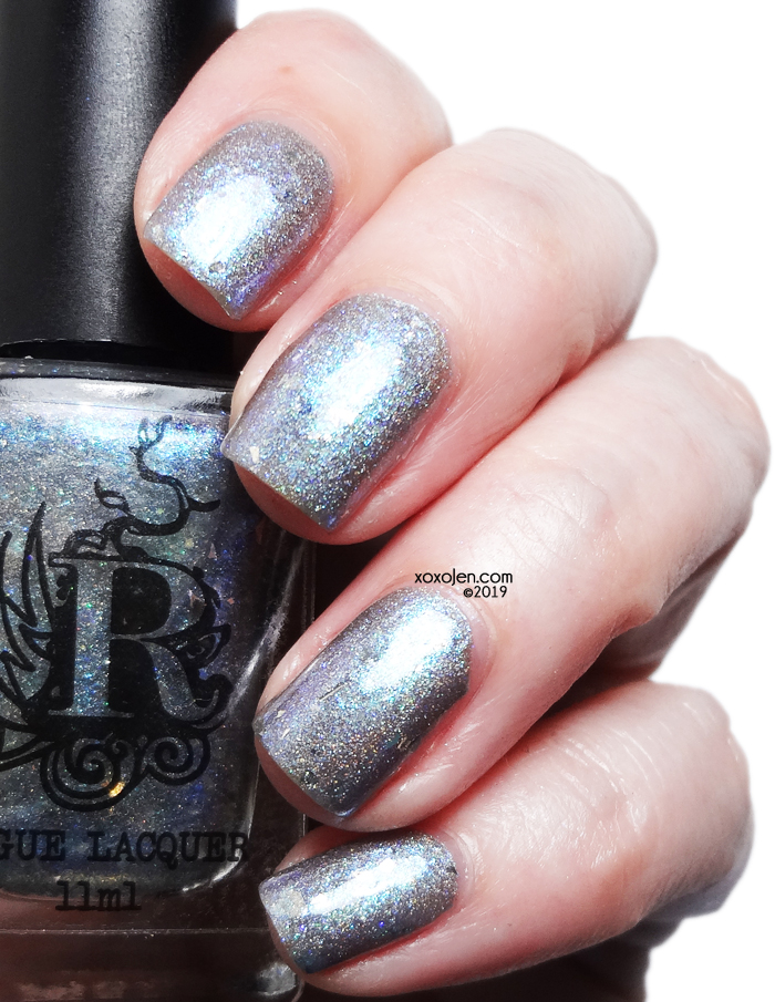 xoxoJen's swatch of Rogue Lacquer Demiguise