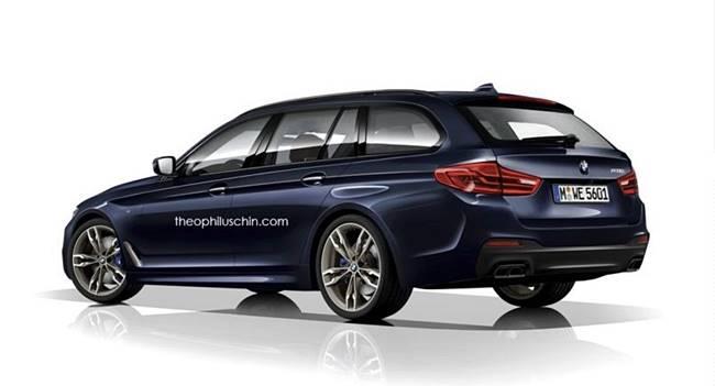 2017 Geneva Motor Show: BMW G31 5 Series Touring
