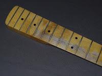 lead guitarists fretboard