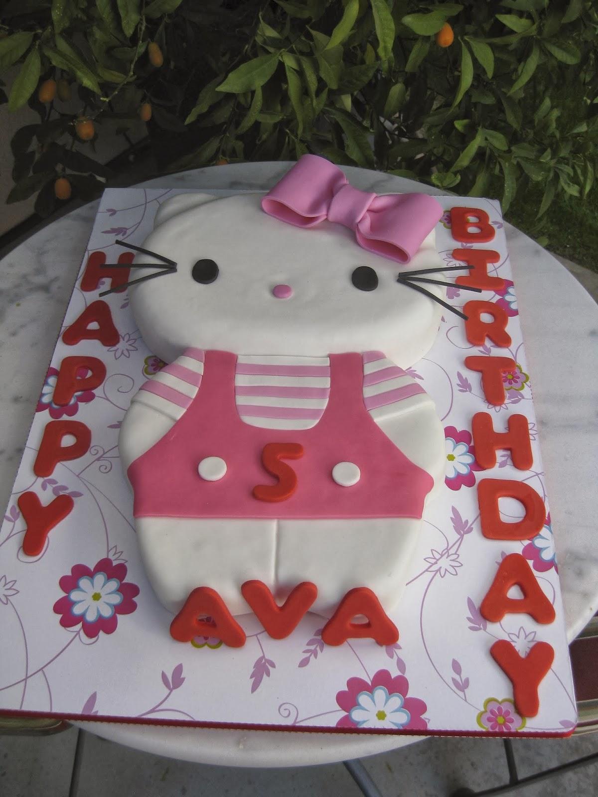 Sugar Chef Ava S 5th Birthday Cake
