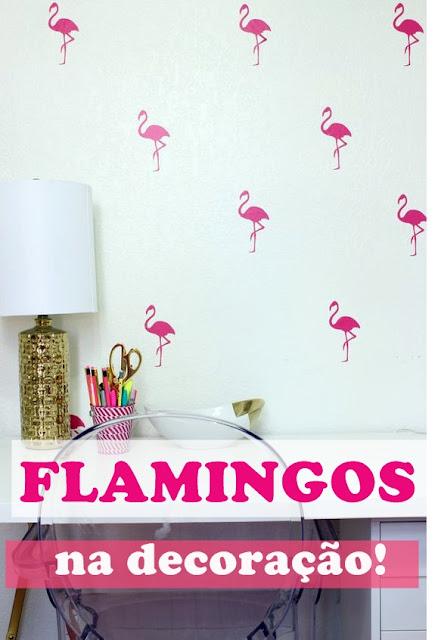 decoração -rosa-flamingos