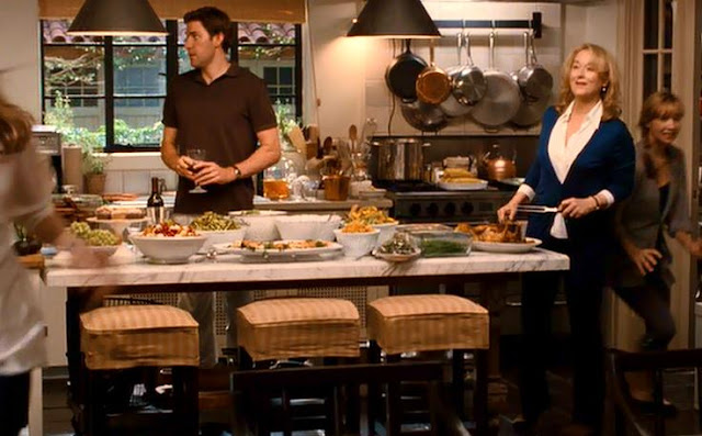 It's Complicated movie kitchen and dining room