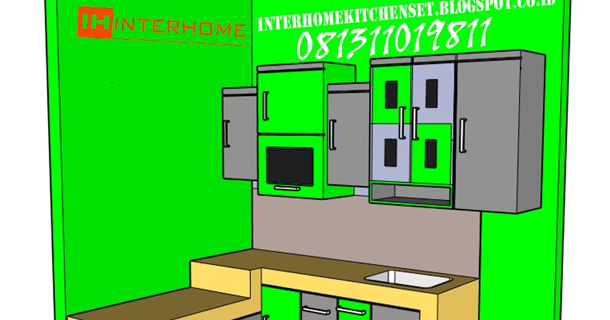 Interhome kitchen set murah gading serpong bsd for Inter home design