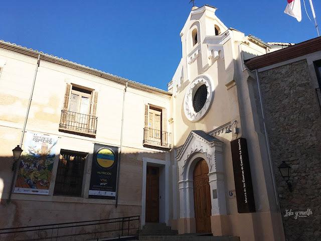 Museos  Castilla-La Mancha fachada Museo Ciencias